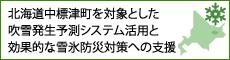 北海道中標津町を対象とした吹雪発生予測システム活用と効果的な雪氷防災対策への支援